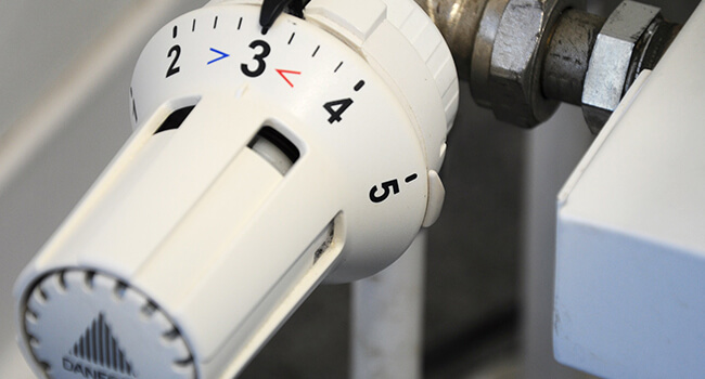 Tilsyn med varmeanlæg | Udskiftning af radiator på Fyn